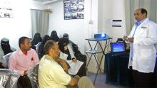 Abdullah Almatary Aden Diabetes Center HCP training